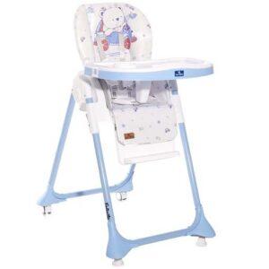 plavobela visepolozajna stolica za hranjenje felicita
