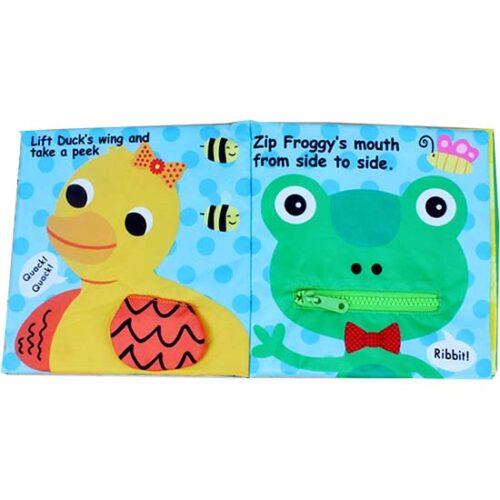 knjiga za bebe sa patkom i zabom