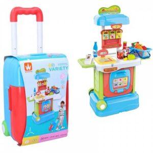 kofer koji se pretvara u igracku market