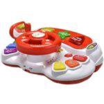 belo crvena muzicka igracka za bebe abero