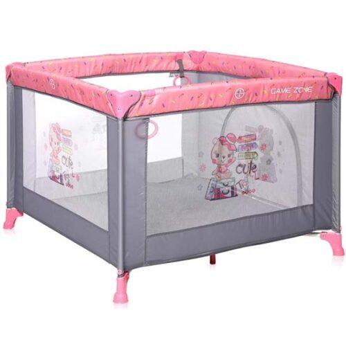 ogradica za bebe sivo roze zone