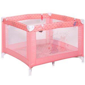 ogradica za bebe hippo roze boje