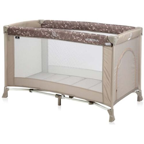 braon prenosivi krevetac za bebe veron