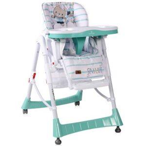 belo zelena visepolozajna stolica za hranjenje gusto