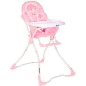 roze stolica za hranjenje beba merc