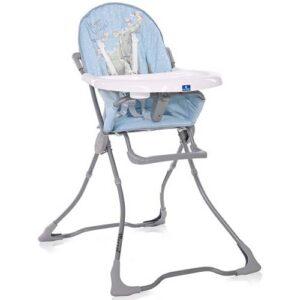 plavo siva hranilica za bebe marc