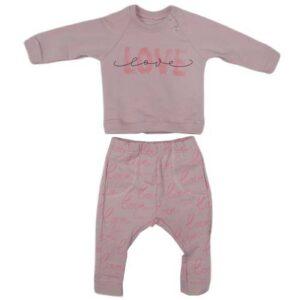roze komplet trenerka za bebe