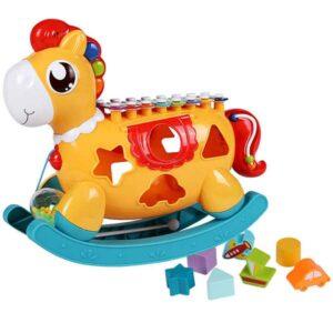 narandzasti edukativni poni za bebe huanger