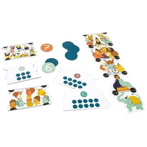 edukativna igracka kartice brojevi clementoni