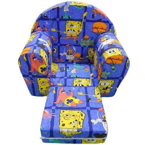 sunjerasta foteljica za decu sundjer bob