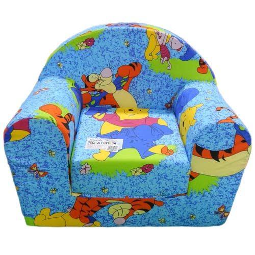 Plava sundjerasta foteljica Vini pu