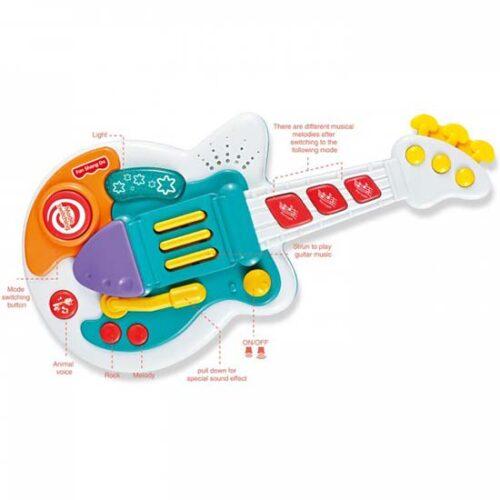 muzicka gitara za bebe tommy
