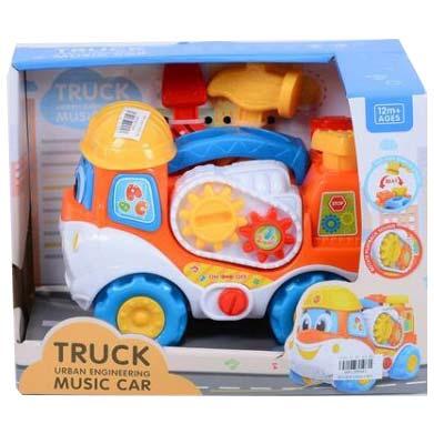 muzicki kamion za bebe little worker