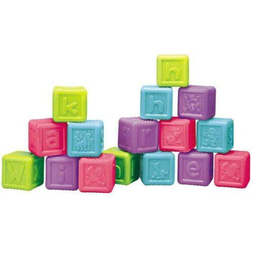 plasticne sarene kocke za bebe redbox
