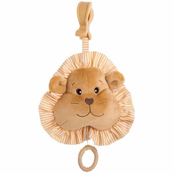 muzickaigracka za bebe braon lav