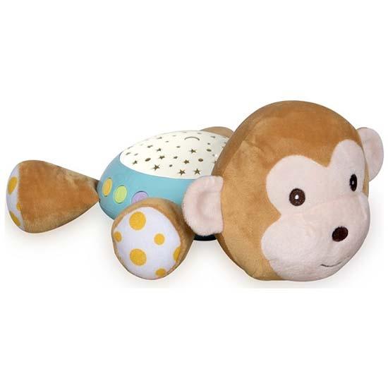 plisani muzicki majmun sa projektorom lorelli