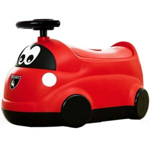 crvena nosa za decu u obliku autica