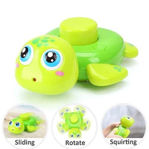 igracka zelena kornjaca za kupanje