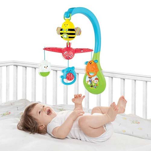 muzicka vrteska za krevetac i beba pcelica