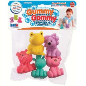 5 sarenih gumenih igracaka za bebe