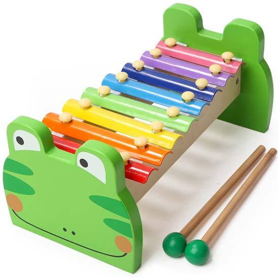 zeleni ksilofon za bebe zabac
