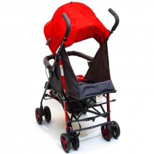 zebra kisobran kolica za bebe crvene boje