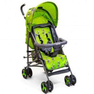 zelena kolica za bebe zebra