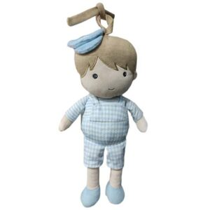plava igracka za bebe u obliku decaka