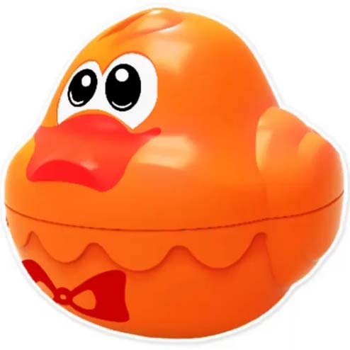narandzasta patka za kupanje
