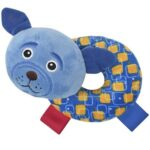 plava zvecka krofna pas