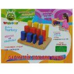 edukativna drvena igracka za bebe geometric