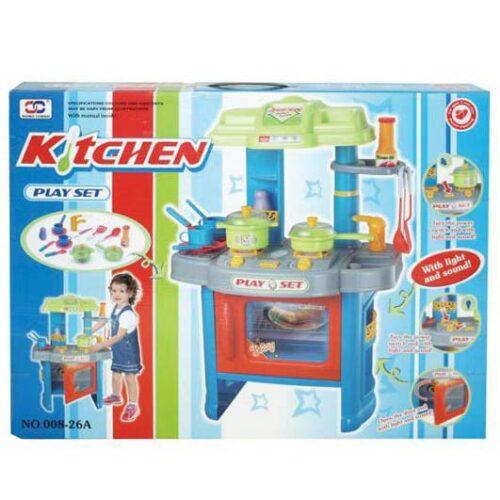 kuhinja za decu plavo zelene boje