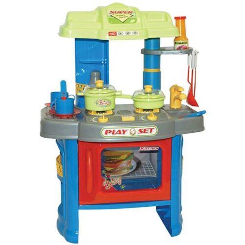 plavo zelena kuhinja za decu denkitchen