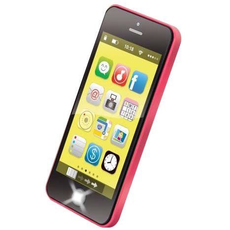 crno roze muzicki telefon za bebe navy