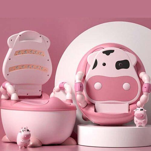 roze bela nosa kravica