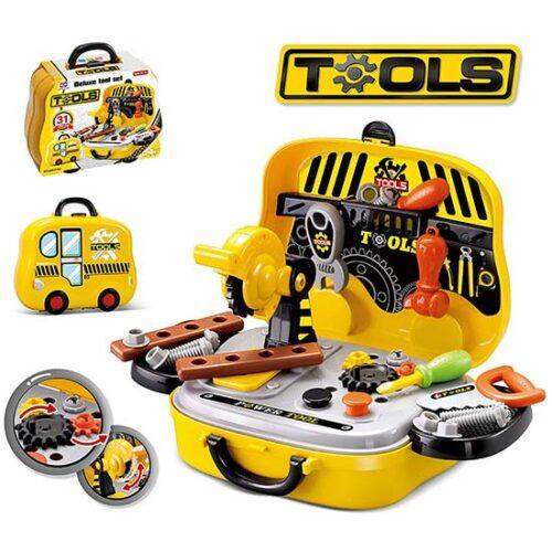 zuto crni alat za decu tools