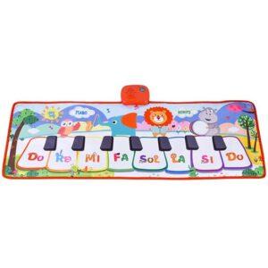 deciji muzicki tepih animal world