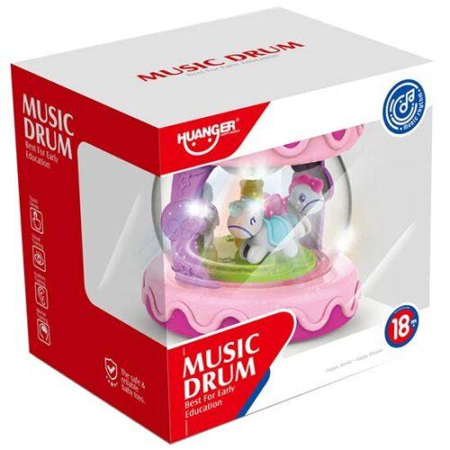 muzicki bubanj za bebe huanger