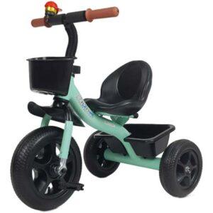 metalni zeleni tricikl za decu beast