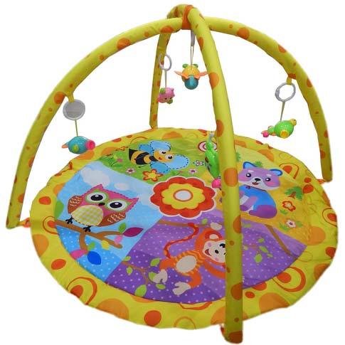 zuta gimnastika igracka za bebe owl