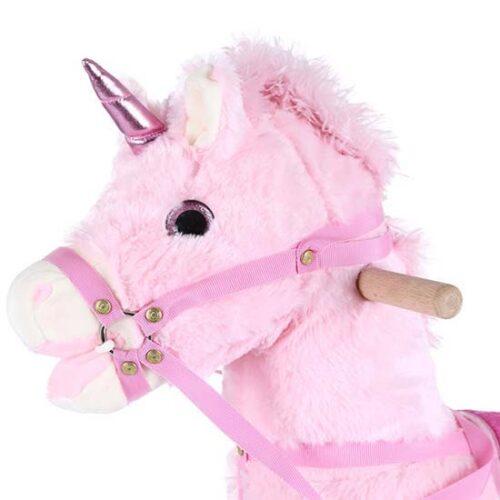 roze konjic klackalica atlar
