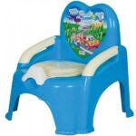 plava nosa stolica potty