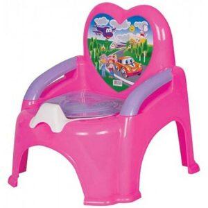 roze nosa stolica potty