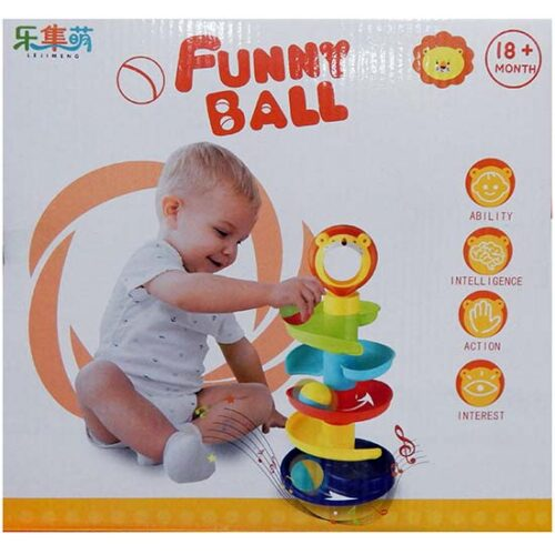 igracka toranj za bebe sa lopticama