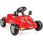 crveni auto na pedale herbi