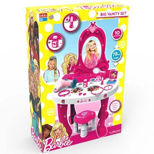 barbie roze sto i stolica za decu
