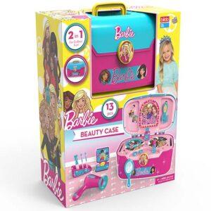 roze kofer za ulepsavanje Barbie