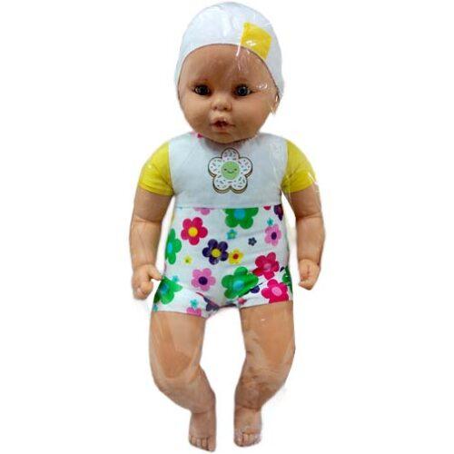 gumena velika lutka bela