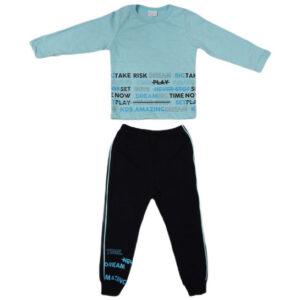 plavo crna trenerka za bebe 0446