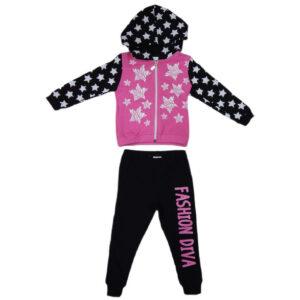 crno roze komplet za bebe 0449
